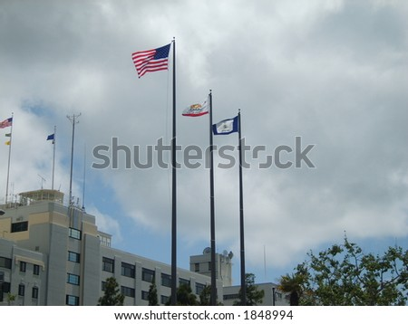United We Stand - stock photo