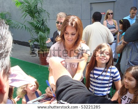 "UNIVERSAL CITY, CA-MAY 16: Model Brooke Burke attends the premiere of Dreamworks animated film ""Shrek Forever After"" at Gibson Amphitheatre on May 16, 2010 in Universal City, CA."