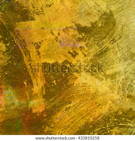 Universal design. Grunge background. Perfect texture of paper, beautiful colors and designs. Computer designed impressionist style vintage texture or background