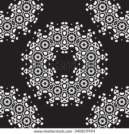 Universal different seamless vintage patterns (tiling). Endless texture can be used for wallpaper, pattern fills, web page background,surface textures. Retro monochrome geometric ornament.