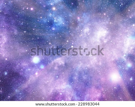 Universe background for your design or prints. - stock photo