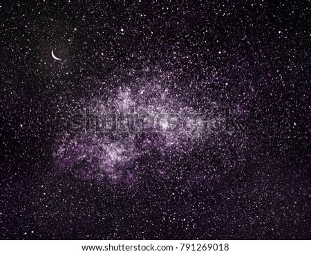 Universe sky background