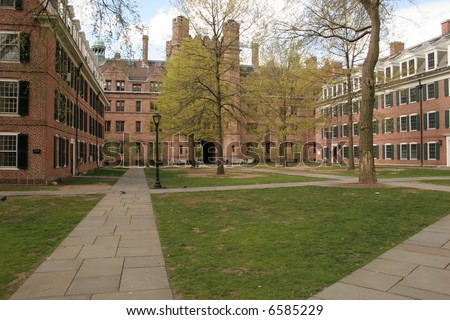 University Campus at Yale - stock photo