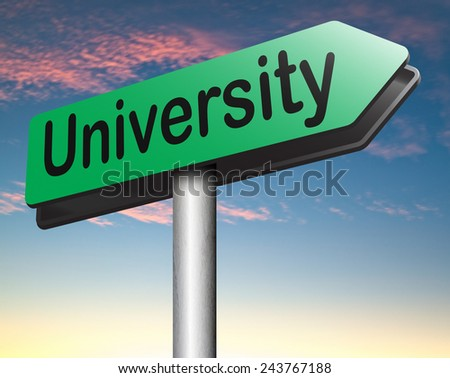 University education and graduation study application grant or scholarship campus choice   - stock photo