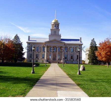 University of Iowa - stock photo