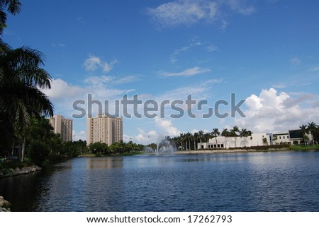 University of Miami Frost School of Music - stock photo