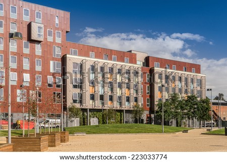 University of Suffolk Campus - stock photo