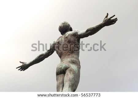University of the Philippines Oblation - stock photo