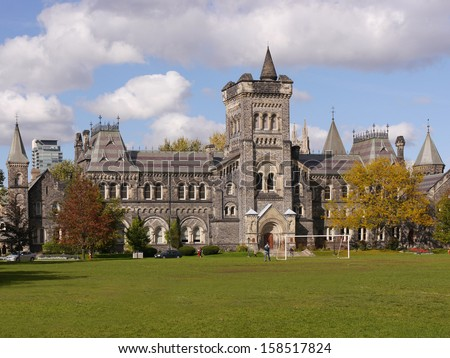 University of Toronto in Fall - stock photo