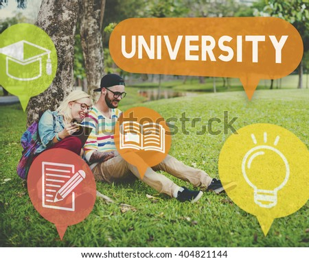 University Research Education College Concept - stock photo
