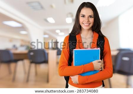 University, Student, College Student. - stock photo
