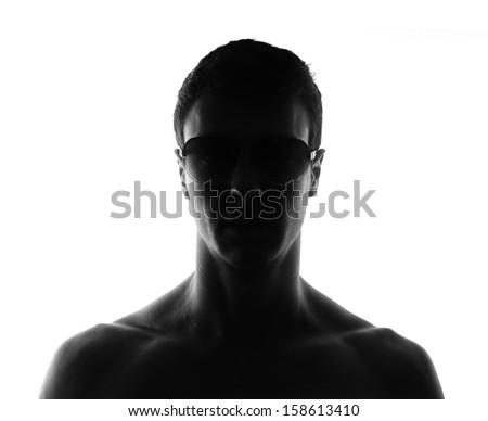 Unknown person - stock photo