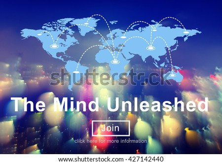 Unleashed Abstract Bright Character Design Nature Concept - stock photo