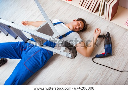Unsafe Workplace Stock Images Royalty Free Images