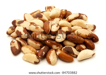 Unshelled brazilian nuts