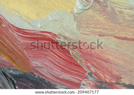 unusual abstract  tender painted canvas background texture