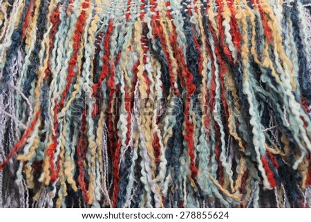 unusual abstract textile background texture - stock photo