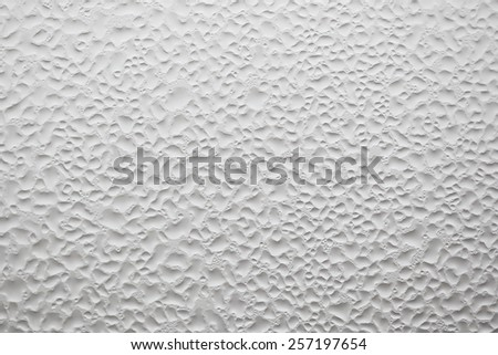 unusual abstract water drop white texture background - stock photo