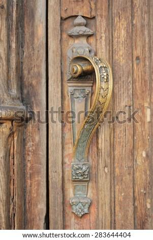 Unusual Old Door Handle Stock Photo 260906366 - Shutterstock