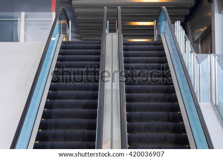Up And Down Escalator