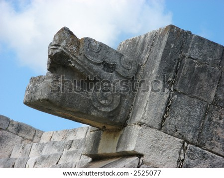 up close shot of statue ring - stock photo