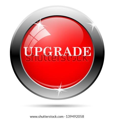 Upgrade icon - stock photo