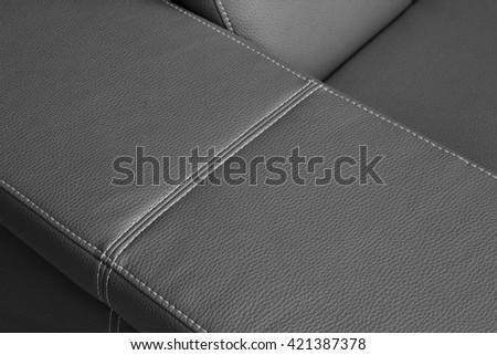 upholster detail - stock photo