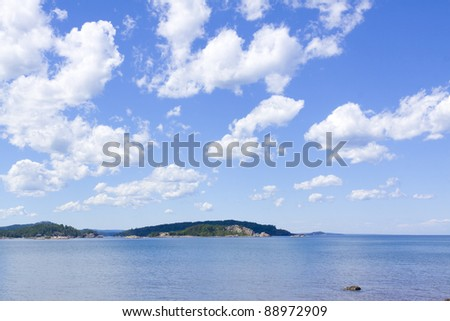 Upper Peninsula - Michigan, USA - stock photo
