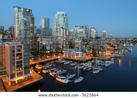 Upscale Condominiums - stock photo
