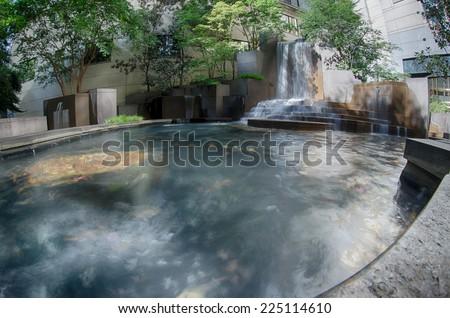 Uptown Charlotte North Carolina Cityscape - stock photo