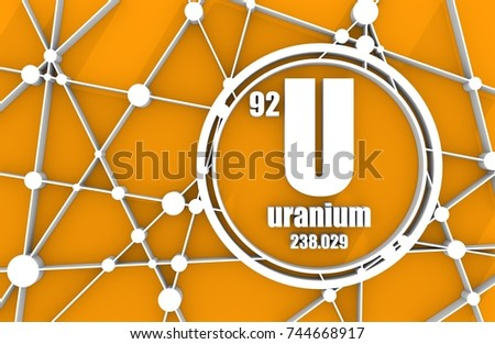 Uranium stock images royalty free images vectors shutterstock uranium chemical element sign with atomic number and atomic weight chemical element of periodic urtaz