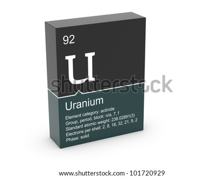 Uranium mendeleevs periodic table stock illustration 101720929 uranium from mendeleevs periodic table urtaz Gallery