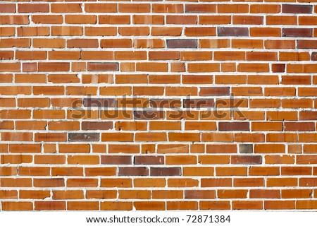 Urban Background (Brick Wall) - stock photo