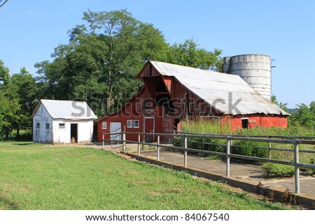 Urban barn just inside the city Limits Nashville Tennessee
