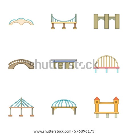 Urban construction icons set. Cartoon illustration of 9 urban construction  icons for web