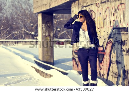 Urban Fashionable girl