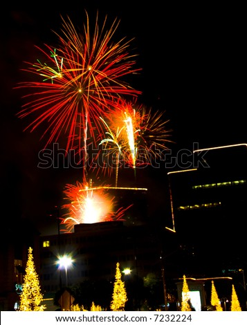 Urban Fireworks - Christmas season lighting ceremony - Uptown Houston & Patriotic Christmas Stock Images Royalty-Free Images u0026 Vectors ... azcodes.com
