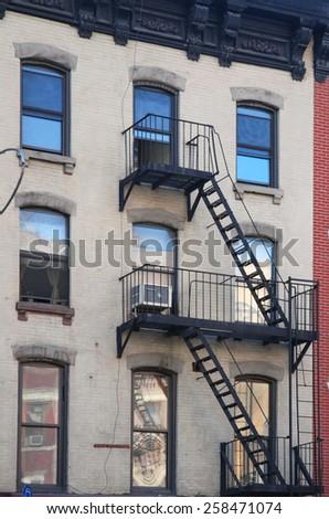 Urban Housing in New York - stock photo