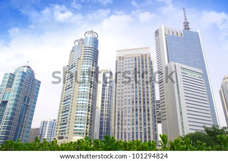 Urban Modern Architecture 8 - stock photo
