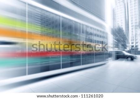 Urban Streaks - stock photo