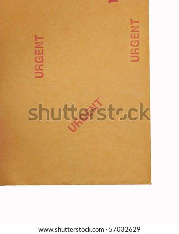 Urgent document 15 - stock photo