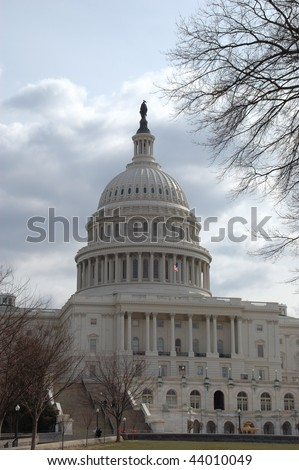 US Capital Building in Washington DC