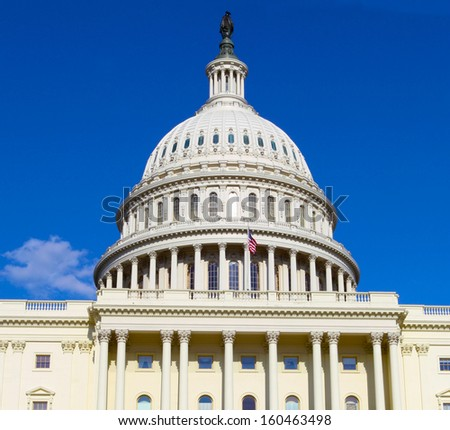 US Capitol  - stock photo