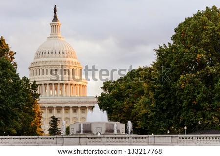 US Capitol Building - stock photo