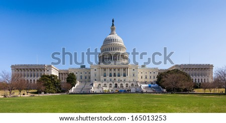US Capitol Building in Washington DC - USA