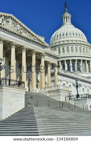 US Capitol Building, Washington DC, United States - stock photo