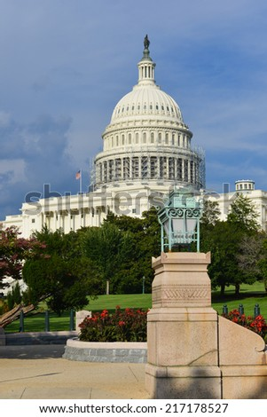 US Capitol Building  - Washington DC United States of America