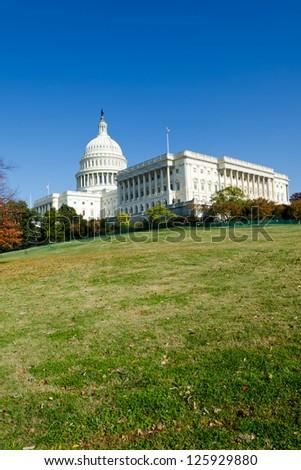 US Capitol in Washington DC - stock photo