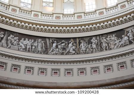 US Capitol Rotunda - stock photo