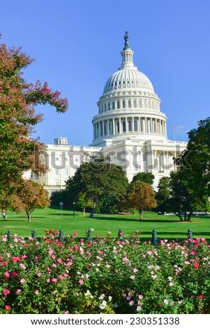 US Capitol - Washington DC, United States of America - stock photo
